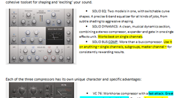NI Compressor and EQ Help Sheet