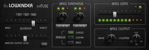 lowender bass enhancing vst with gate